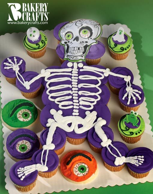 Halloween Cupcake Cake