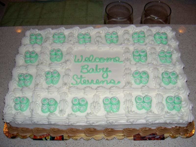 Harris Teeter Baby Shower Cakes