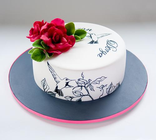 Hummingbird Cake Designs