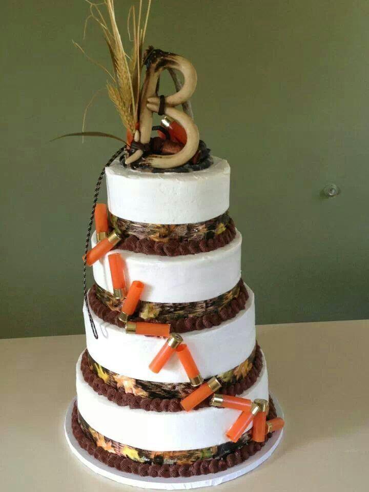 11 Cute Camo Wedding Cakes Photo Hunting Themed Wedding Cake
