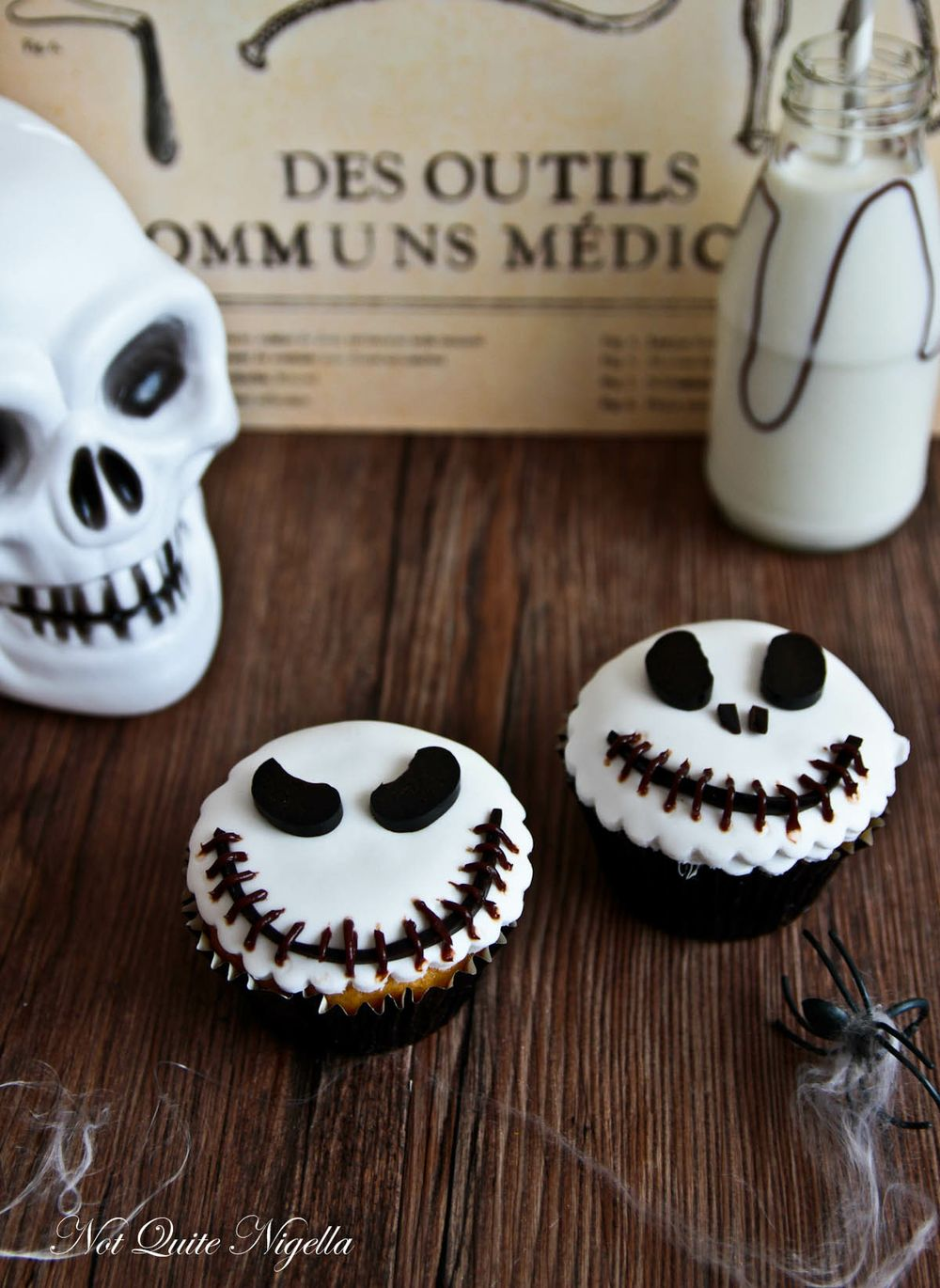 Jack Skellington Halloween Cupcakes Idea