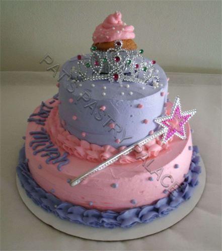 Brilliant 10 Little Purple Girl Birthday Cakes Photo Girly Girl Birthday Personalised Birthday Cards Veneteletsinfo