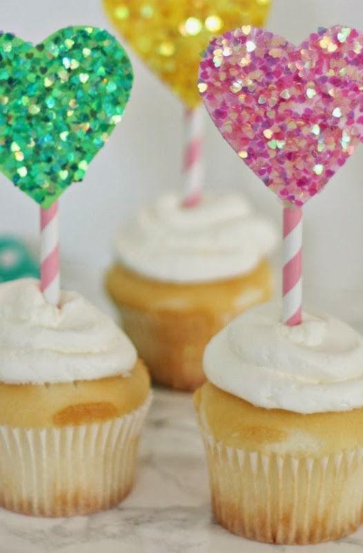 8 Photos of Teenage Valentine Cupcakes
