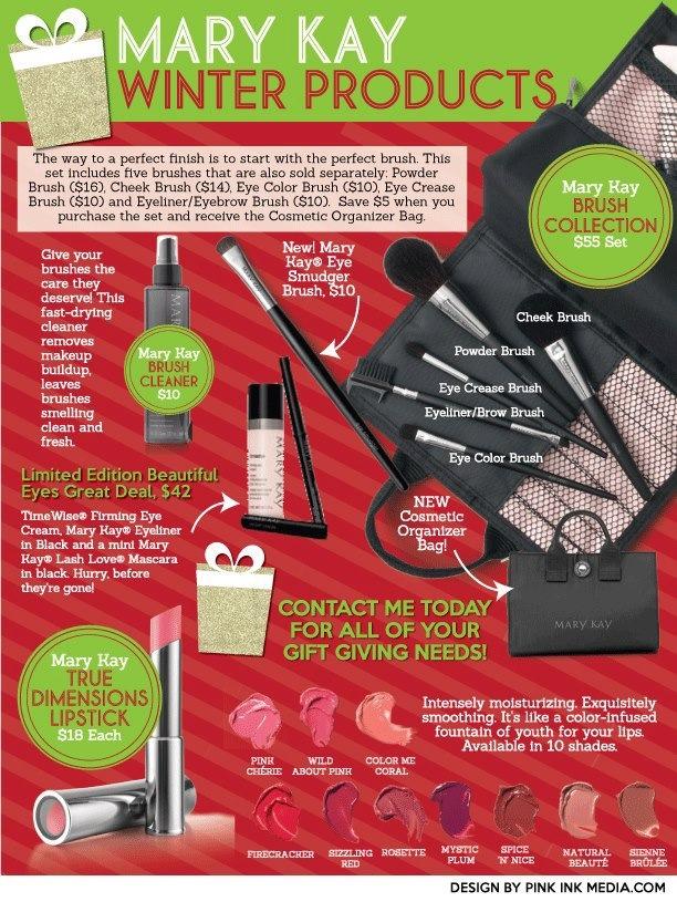Mary Kay Holiday Products