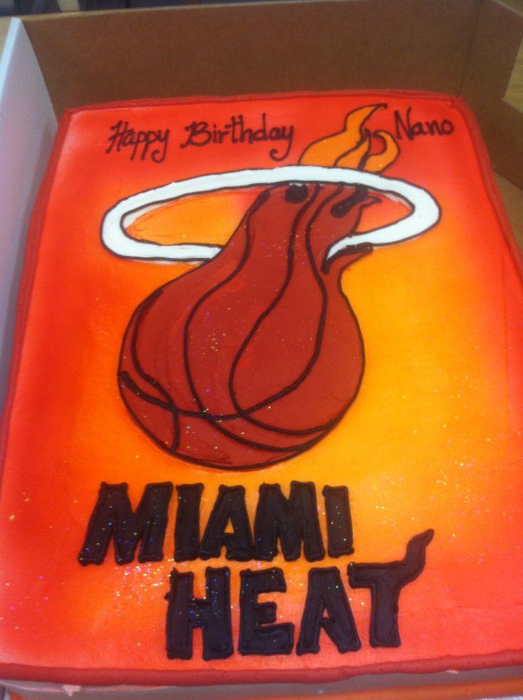 Miami Heat Cake