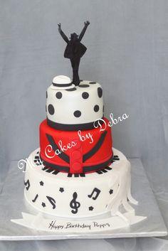 Amazing 11 Michael Jackson Themed Birthday Cakes Photo Michael Jackson Funny Birthday Cards Online Alyptdamsfinfo