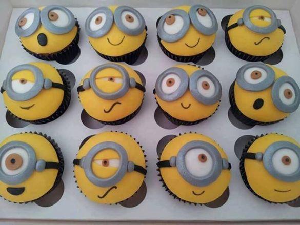Minion Cupcake Cake Idea