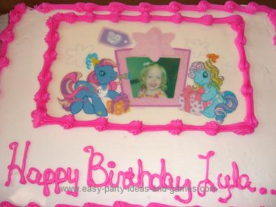 My Little Pony Birthday Cake Ideas