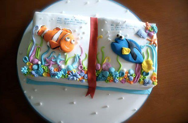 Nemo Fondant Cake