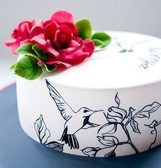 Painted Hummingbird Cake