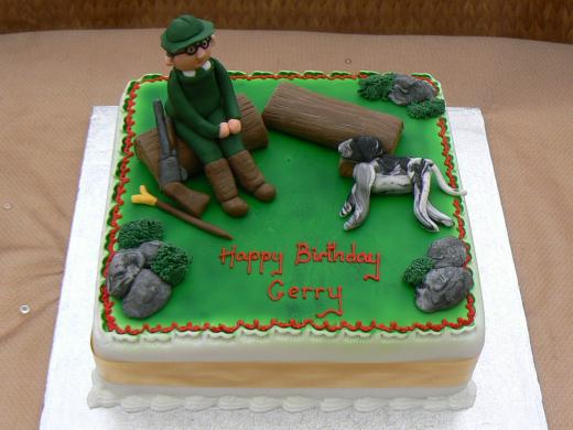 Magnificent 11 Hunters Birthday Cakes Mens Photo Pin Hunting Birthday Cake Personalised Birthday Cards Epsylily Jamesorg