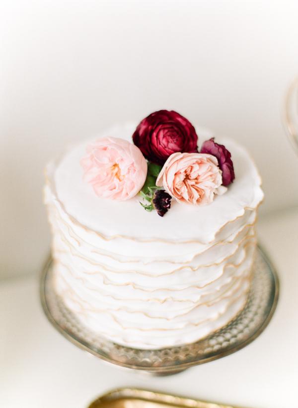 Single Tier Wedding CakesDIY