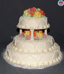 Three-Layer Birthday Cake