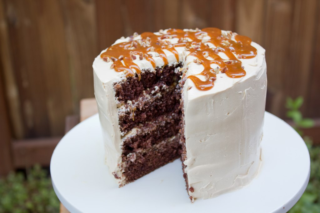 Turtle Layer Cake