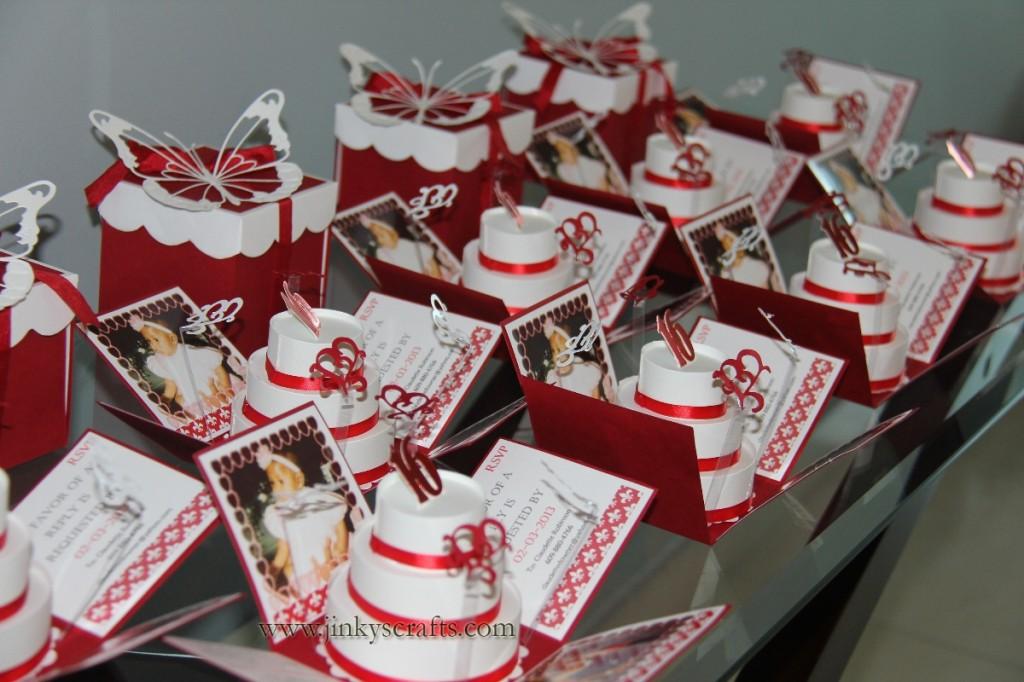 Valentine Theme Sweet 16 Invitations