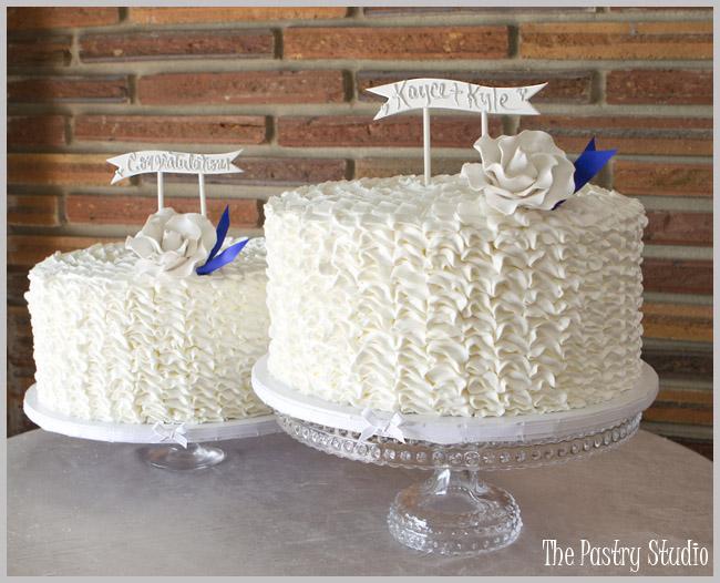 Vintage Wedding Shower Cakes
