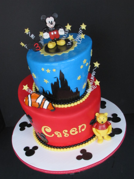 Walt Disney World Birthday Cake