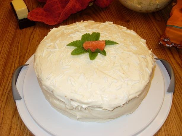 White Chocolate Layer Cake Recipe