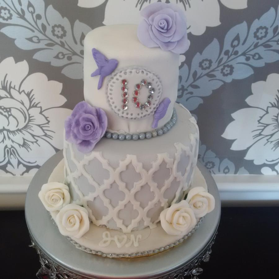 10th Anniversary Cake