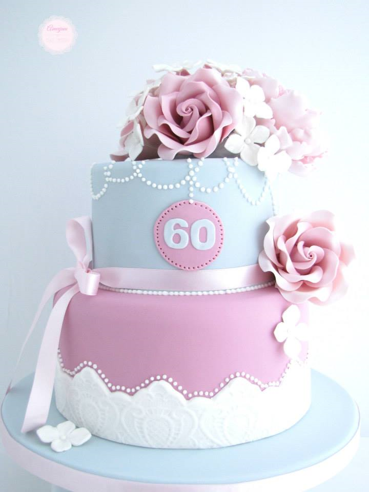 60th Birthday Cake Ideas for Women