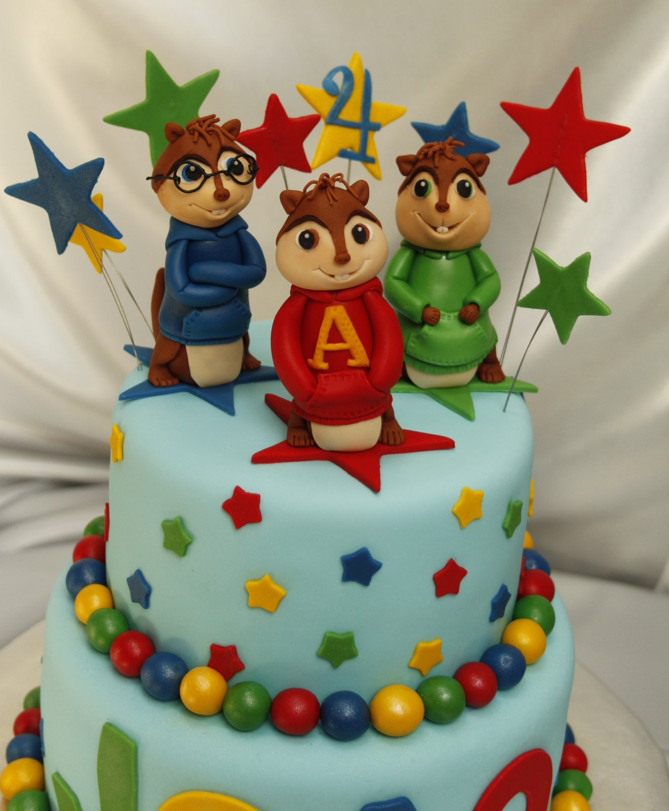 Alvin and Chipmunks Cake