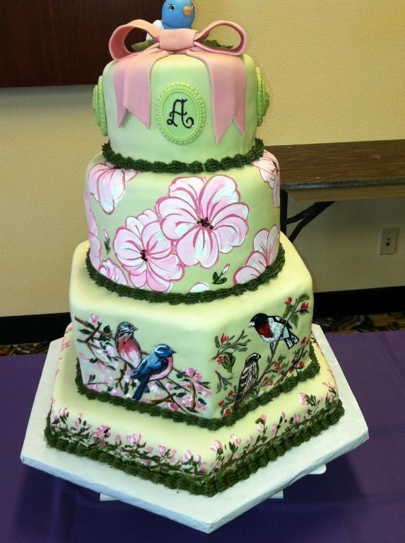 Bird Watcher Birthday Cake