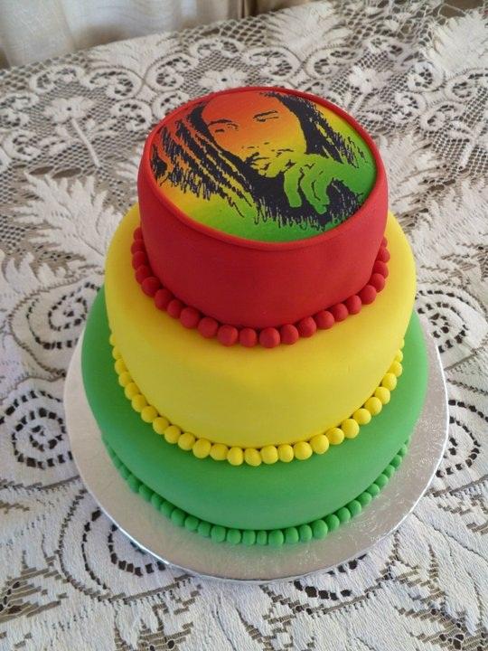 Bob Marley Birthday Cake Ideas
