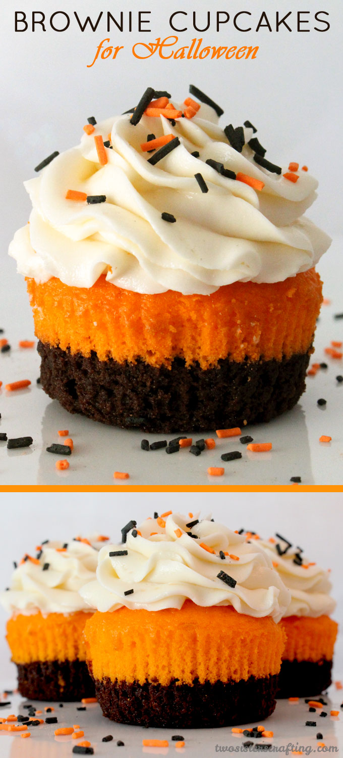 Brownies Halloween Cupcake Ideas