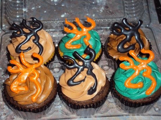 Browning Hunting Cupcakes