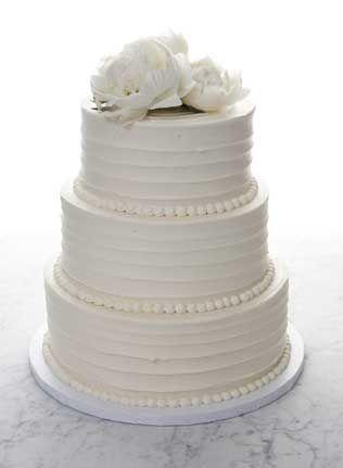 Buttercream Wedding Cakes No Fondant