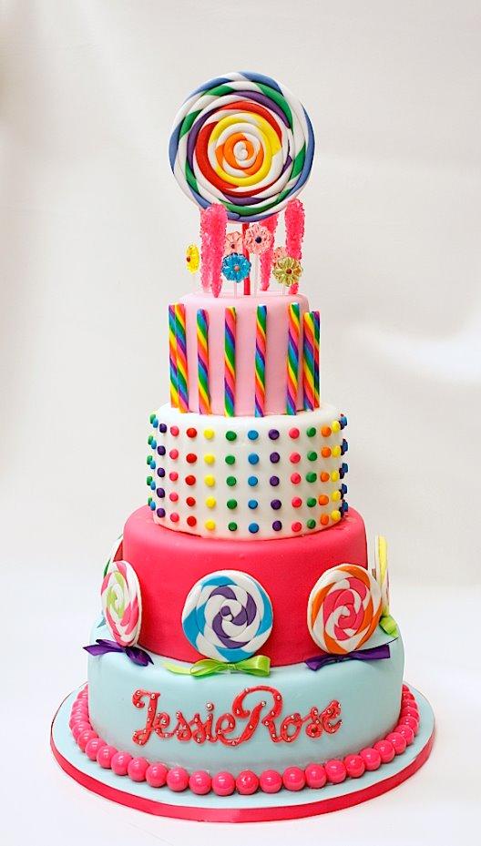 Candy Themed Birthday Cake Ideas