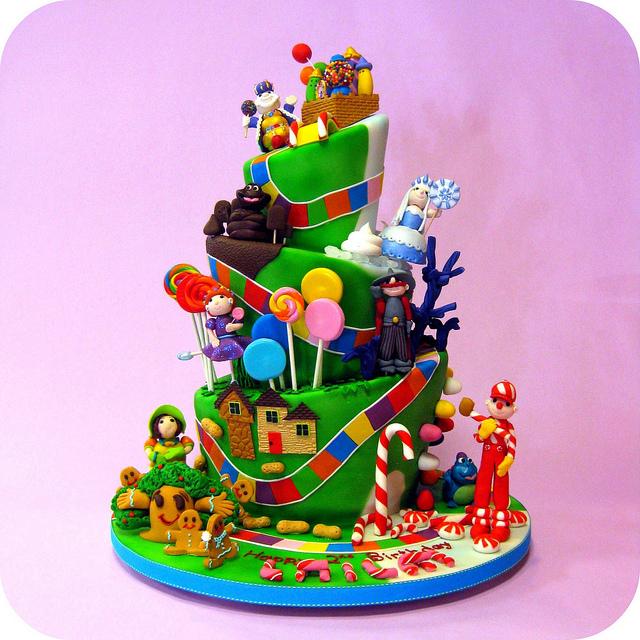 Candyland Cake Decorations