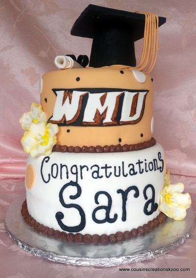Central Michigan University Graduation Cake