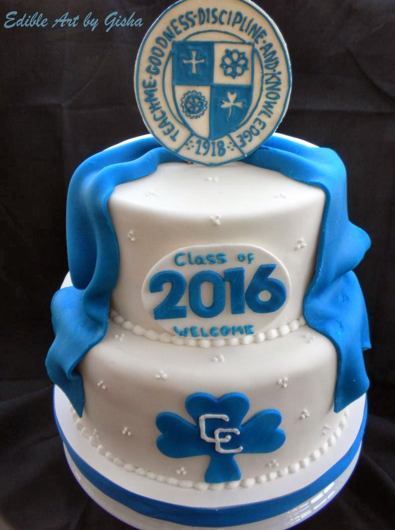 Central Michigan University High School Graduation Cake
