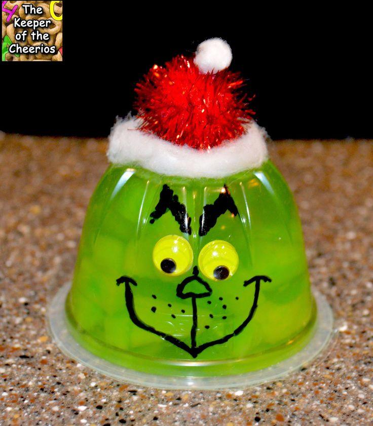 Christmas Jello Fruit Cups