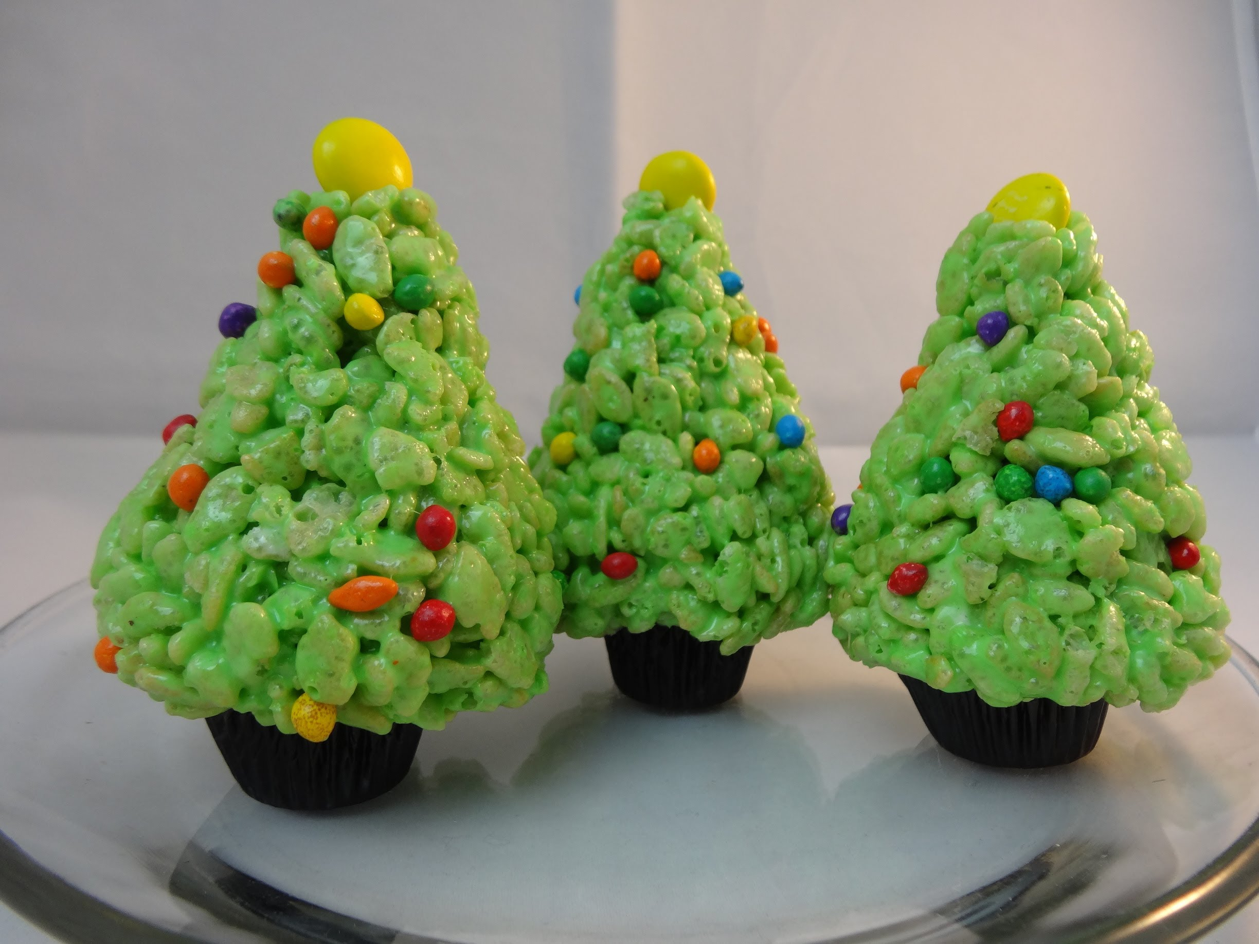 Christmas Trees Rice Krispies Treat Cereal