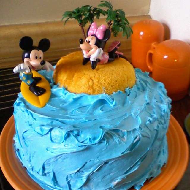 Couples Bridal Shower Cake