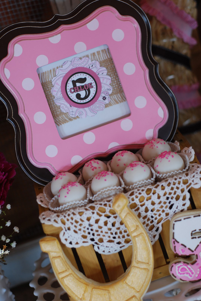 Cowgirl Princess Birthday Party