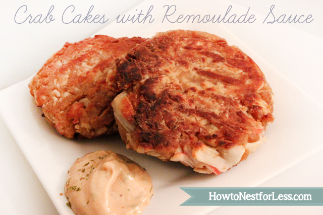 Crab Cakes with Remoulade Sauce