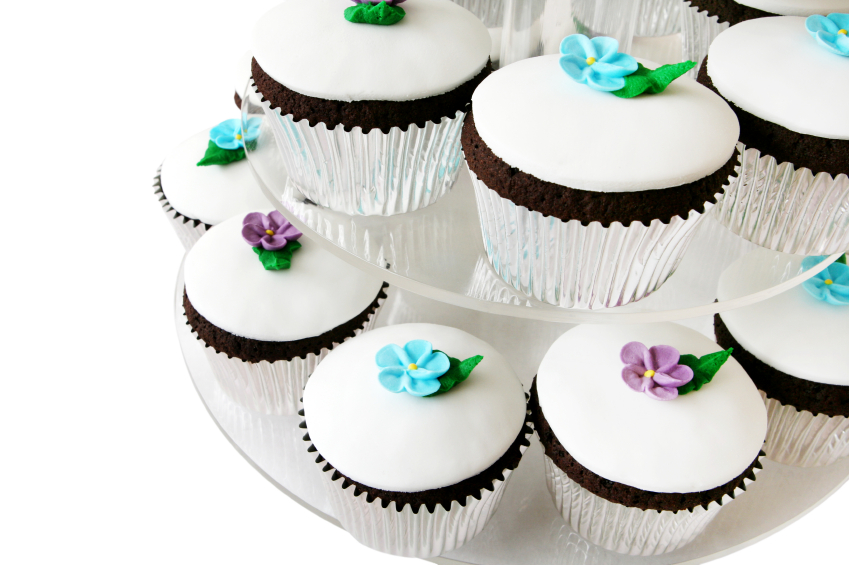Cupcakes with Royal Icing
