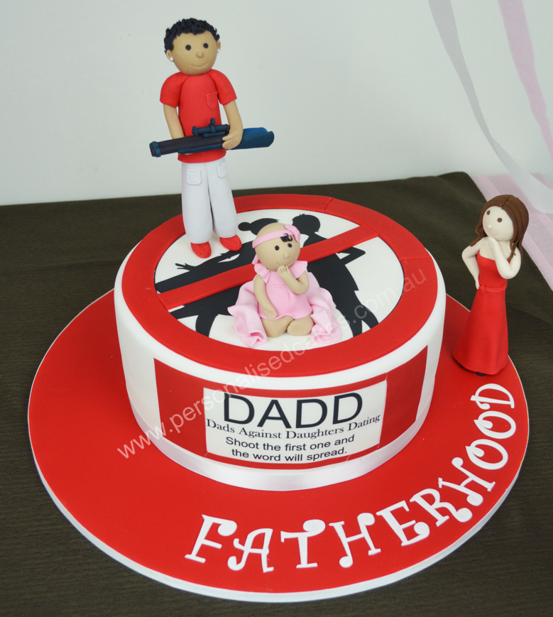 Dad Baby Shower Cakes