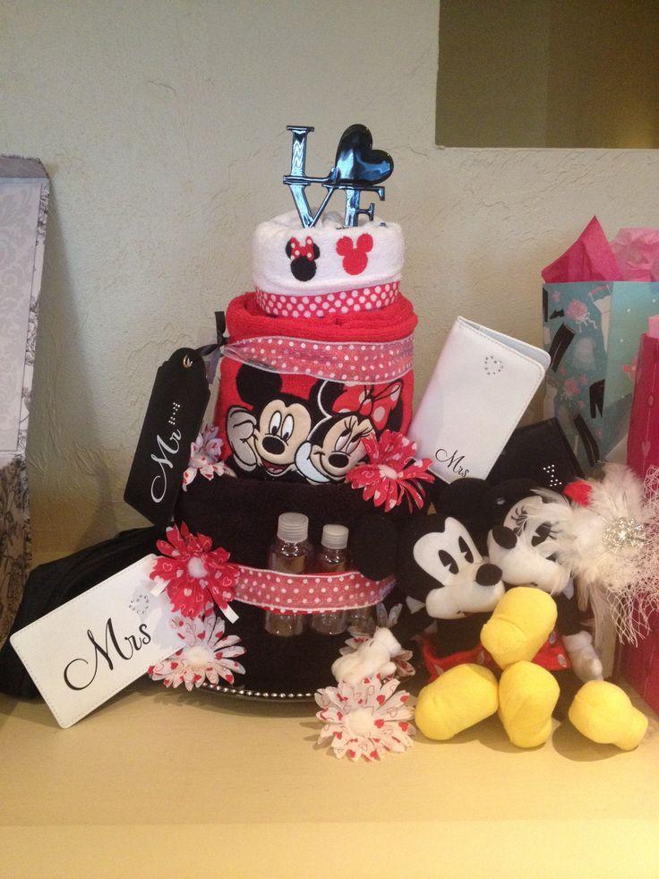 Disney Mickey Minnie Bridal Shower