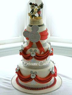 Disney Themed Bridal Shower Cakes