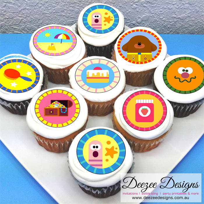 Duggee Hey Cupcake Toppers