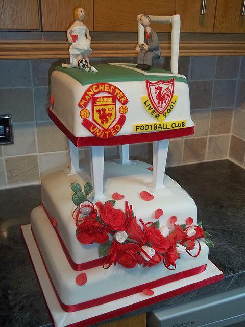 Football Wedding Cake