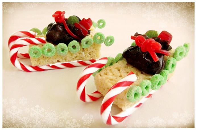 Fun Christmas Treats Sleighs
