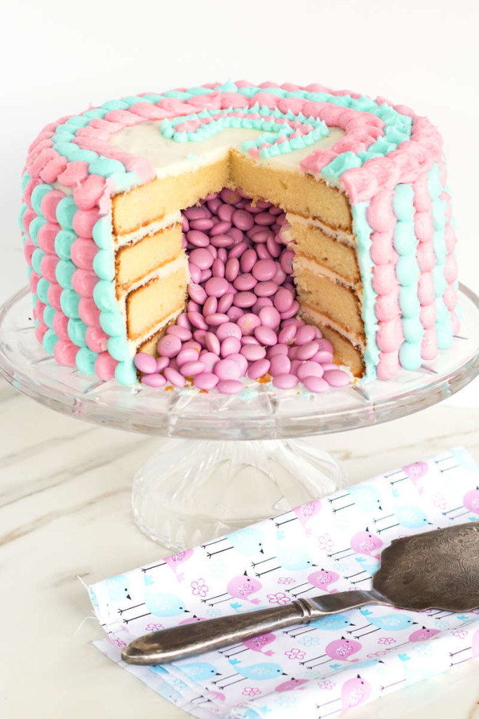 12 Photos of Best Gender Reveal Cakes