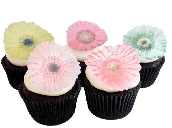 Gerber Daisy Cake Decorations