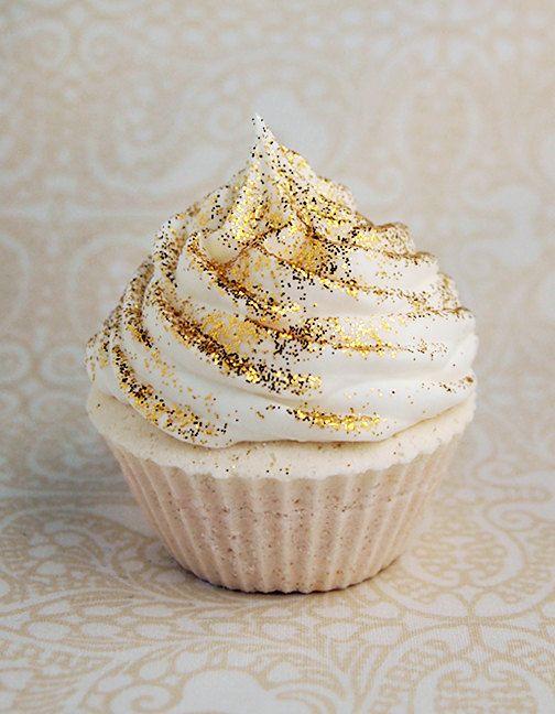 Gold Edible Glitter Cupcake