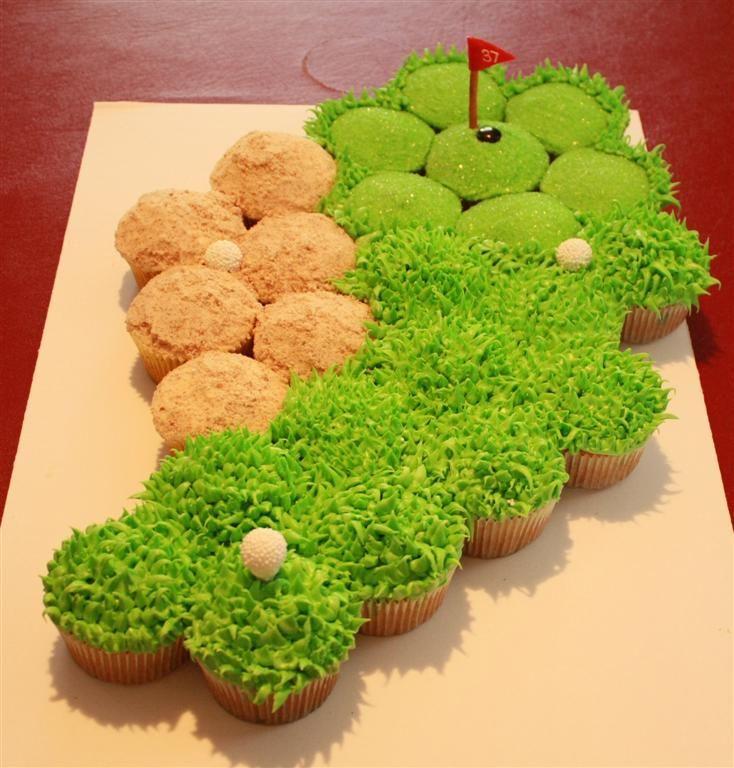 11 Photos of Golf Cupcakes Ideas